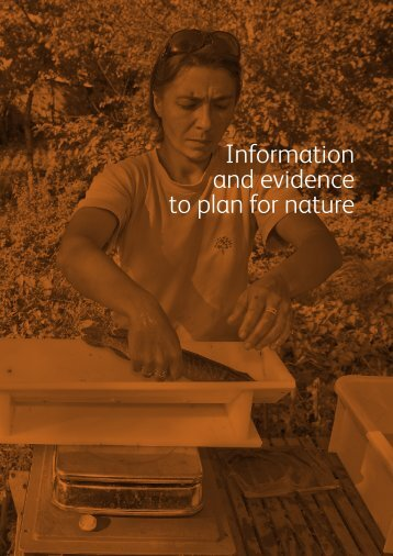 Information and evidence to plan for nature - Biodiversity Skills