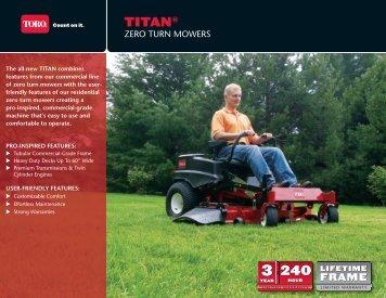 TITAN® - Brand New Mowers
