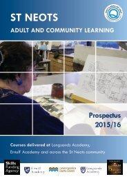 SNCL Prospectus Autumn 2015-16[1]