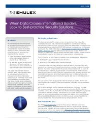 When Data Crosses International Borders, Look to Best-practice ...