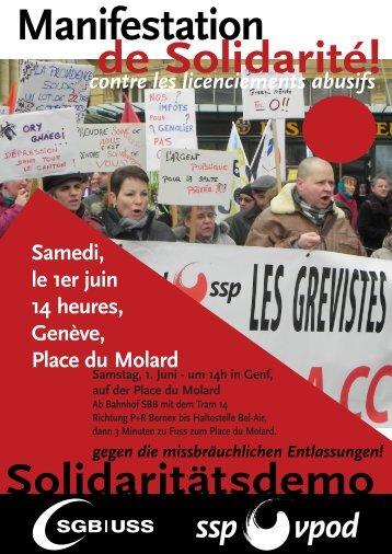 Télécharger le tract pour la manifestation - Solidarité avec les ...
