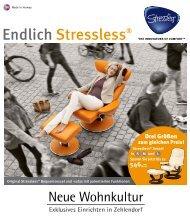 Original Stressless® Bequemsessel und -sofas mit patentierten ...