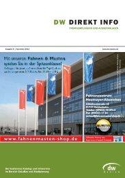 Euro - DW DIREKT INFO Freiraum - November 2012 - DW-Medien