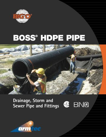 BOSS pipe - Armtec