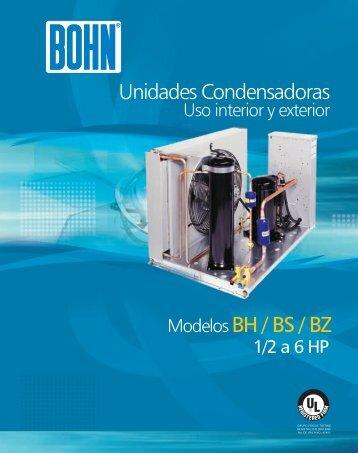 de 2-6 HP - Bohn