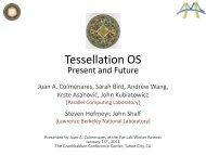 Tessellation OS - Par Lab