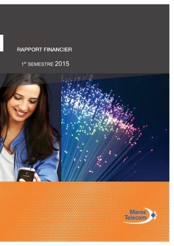 Rapport financier S1 2015