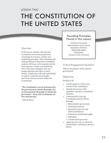 a look at the shaping of the constitution of the united states An essay or paper on factors influencing the shape of the constitution united states declaration of independence factors influencing the shape of the.