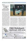 aus den abteilungen - TSG Heidelberg-Rohrbach - Seite 6