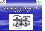 Modelling and development of a quadrotor UAV - eroMAV