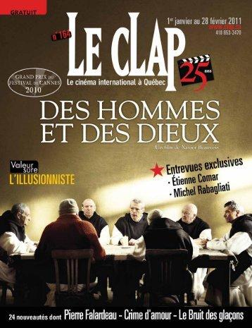 Des films - Le Clap