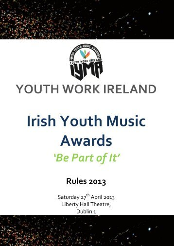 Irish Youth Music Awards - Youth Work Ireland