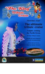 The ultimate tribute cruise
