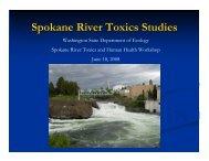 Washington State Department of Ecology's PowerPoint Presentation