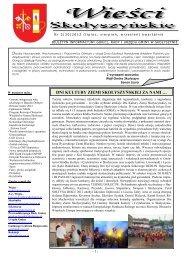 Nr 3/2012 - Biuletyn Informacji Publicznej, Urząd Gminy Skołyszyn