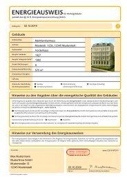 dena Energieausweis - Zukunft Haus