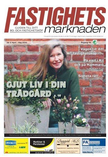 GJUT LIV I DIN TRÄDGÅRD s. 16 - Svensk mediakonsult