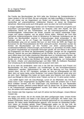 Zur Soldatenfamilie - AGGI-INFO.DE