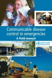 1. rapid assessment - Health Library for Disasters