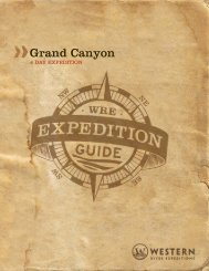 Grand Canyon 4-Day - PDF - Western River Expeditions