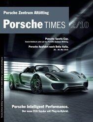 Effiziente Sportwagen – seit mehr als 60 Jahren. - Porsche