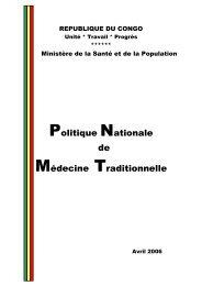Politique Nationale de Médecine Traditionnelle