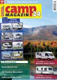 camp Magazin24 (September 2011) - Die Polstermacher