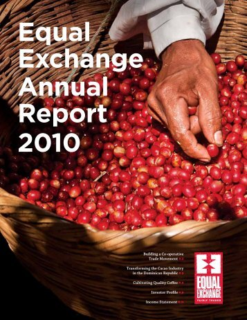 Equal Exchange Annual Report 2010