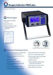 Oxygen Indicator PRO2 plus - Polysoude