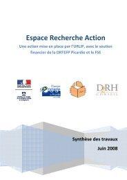 Espace recherche action - urlip