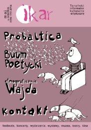 tu można pobrać Ikara z maja 2009 r. (w formacie pdf) - Toruń