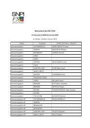 Mouvement des IEN-ET/EG A l'issue de la CAPN du 13 mai ... - SNPI