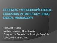 Docencia y microscopía digital. - Sociedad Española de Anatomía ...