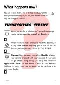Baptism Leaflet - St James Church – Southam - Page 5