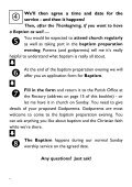 Baptism Leaflet - St James Church – Southam - Page 6