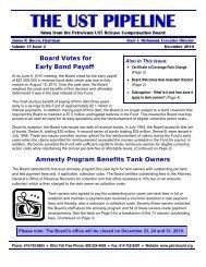 Board Votes - Ohio Petroleum Underground Storage Tank Release ...