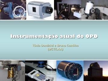 Instrumentação atual do OPD