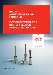 Huck® Structural Blind Fasteners | KVT-Fastening