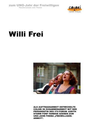 Colori WilliFrei.p65 - Colori - Theater St. Gallen