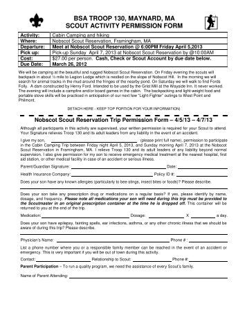Bsa Health Form Oa Form Page Forms And Documents Bsa Troop Bsa