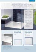 OPTIMA S Duschboard - Mainmetall - Seite 7