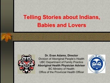 Presentation - Our Stories - Vancouver Coastal Health
