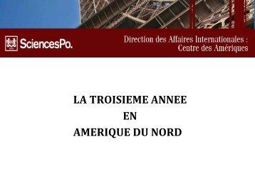 UNIVERSITY OF TORONTO - Centre des Amériques - Sciences Po