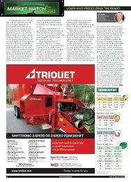 MARKET WATCH - Progressive Dairyman Magazine