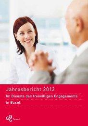 Jahresbericht 2012 - GGG Benevol