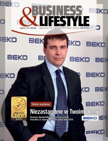 Business and Lifestyle wywiad z Maciejem Mienikiem - Beko