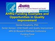 AHRQ Slide Template 2004 - Academic Pediatric Association