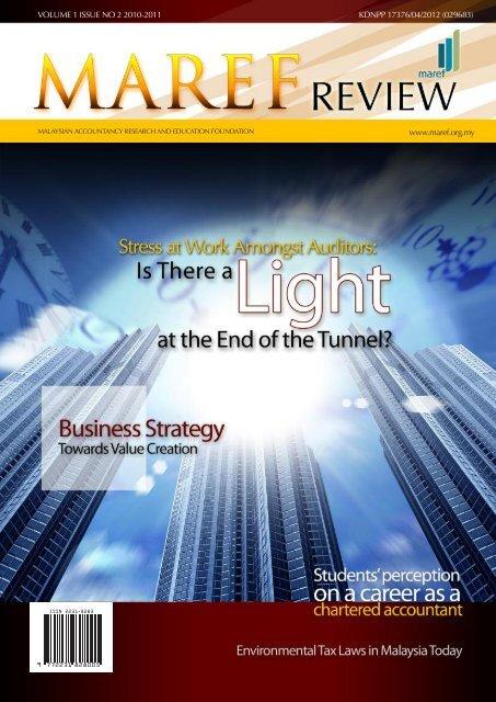 www.maref.org.my VOLUME 1 ISSUE NO 2 2010-2011 KDNPP ...