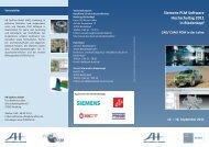 Siemens PLM Software Hochschultag 2011 in Biedenkopf