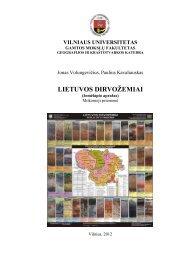 Lietuvos dirvožemiai. Mokomoji priemonė. Vilnius - Vilniaus ...